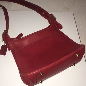 7494fa8562 Women Red Coach Vintage Bag on Poshmark